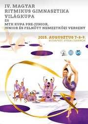WORLD CUP Budapest (Hungary) 07–09.08.2015