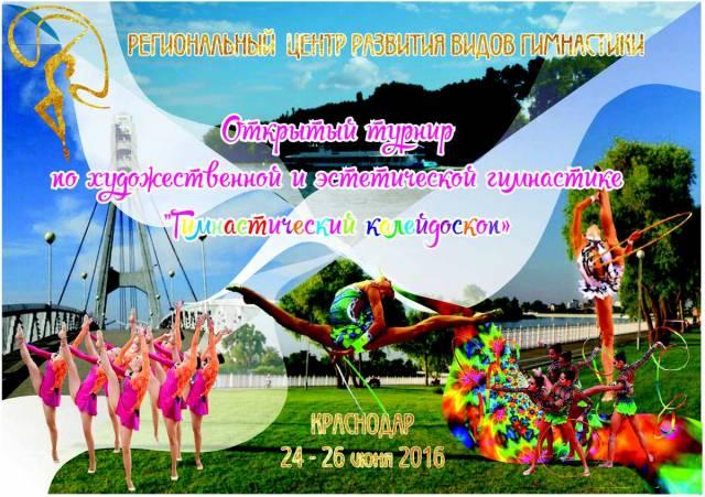 «Гимнастический калейдоскоп», 24-26.06.2016, Краснодар