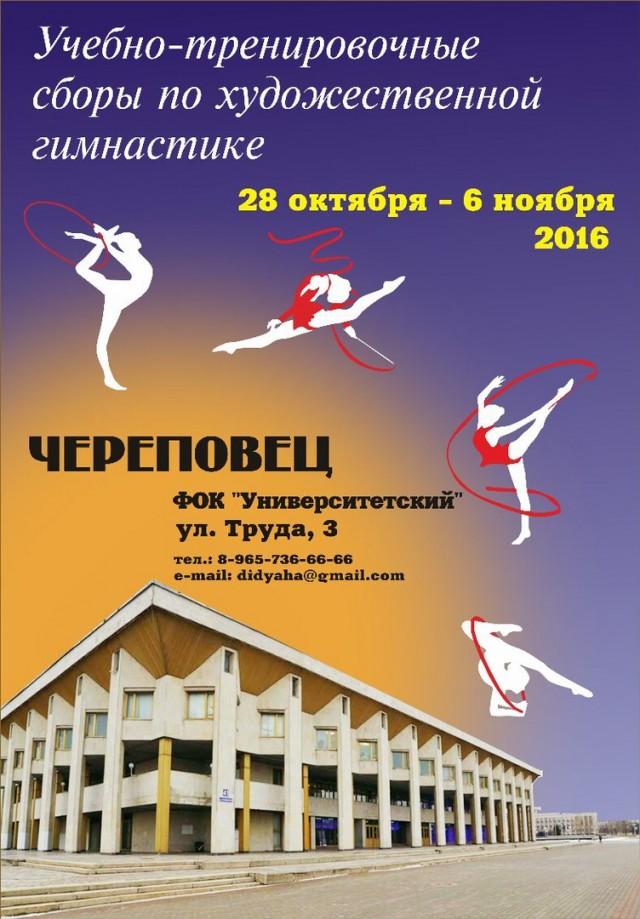 УТС в г. Череповец 28.10-06.11.2016