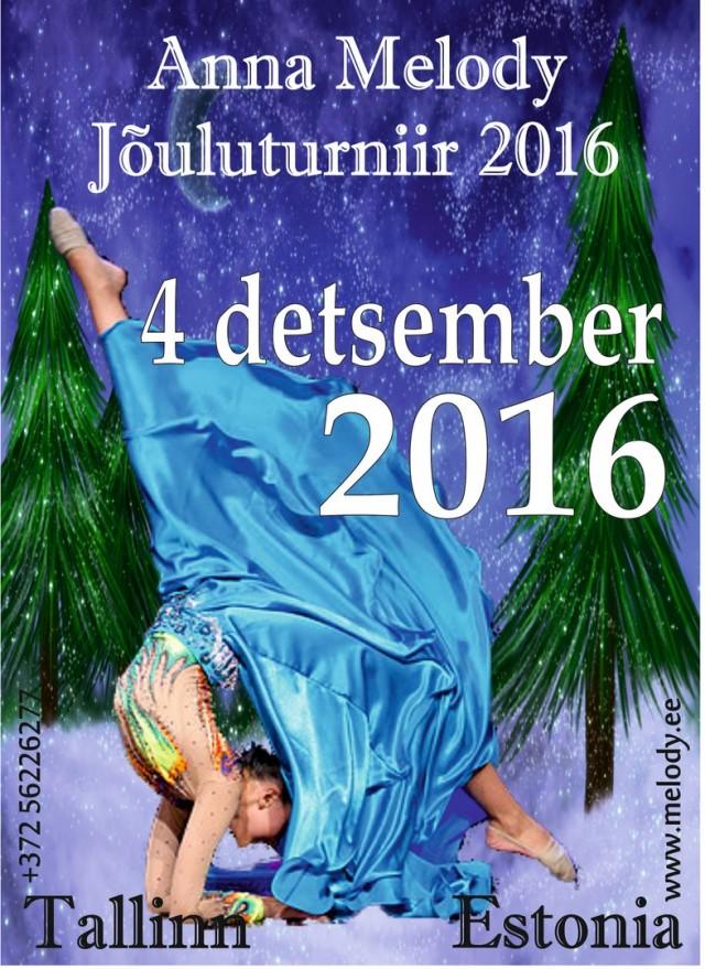 """""""Anna Melody Jouluturniir"""" , 04.12.2016, Tallinn, Estonia"""