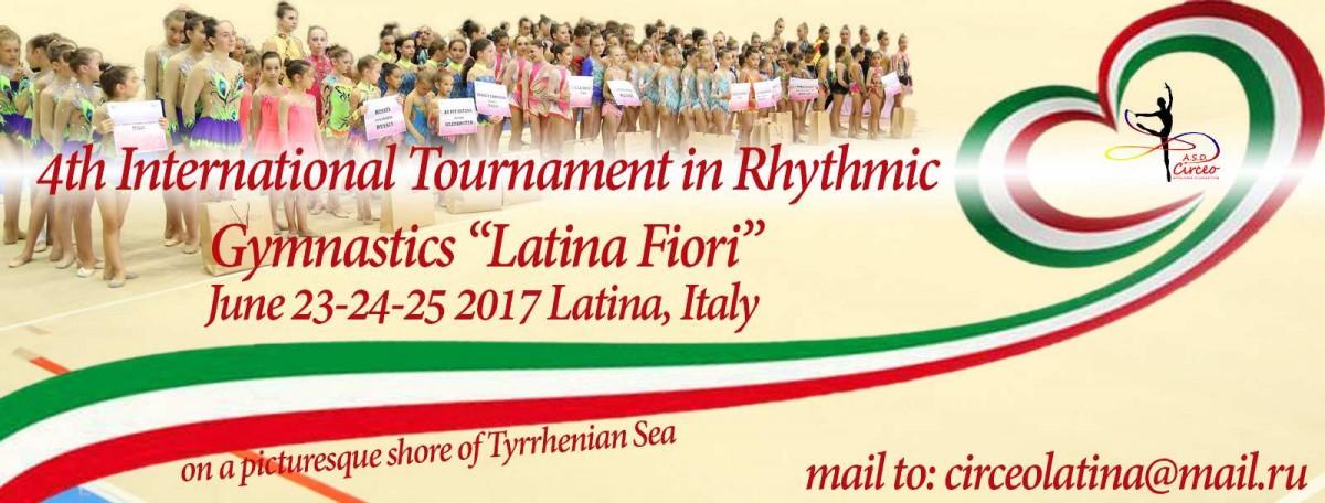 """""""LATINA FIORI"""", 23-25.06.2017, Latina, ITALIA"""