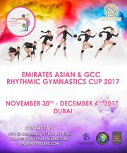 EMIRATES ASIAN & GCC RHYTHMIC GYMNASTICS CUP 2017, 30.11-04.12.2017, Dubai (UAE)