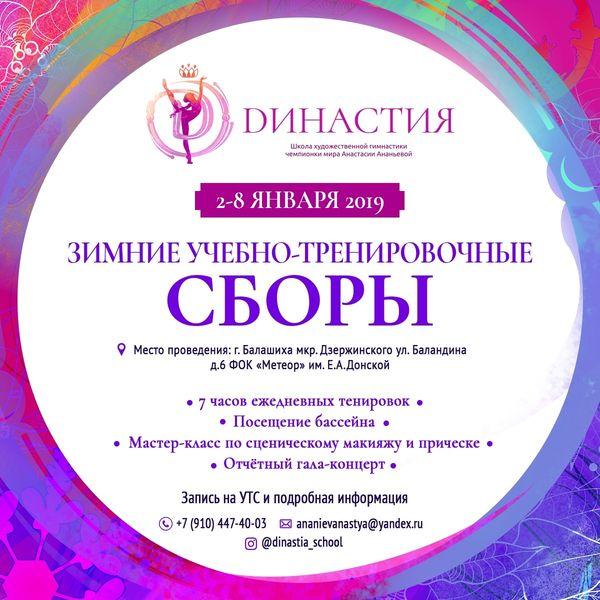 УТС «Dинастия», 02-08.01.2019, МО, Балашиха