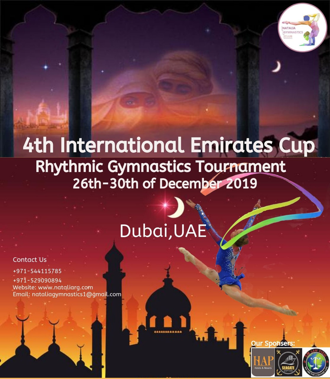 «4th INTERNATIONAL EMIRATES CUP 2019», 26-30.12.2019, DUBAI, UAE