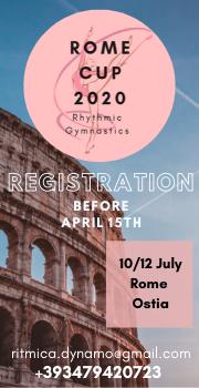 «ROME CUP», 10-12.07.2020, Rome (Ostia), Italy