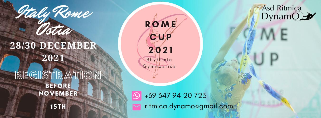 International Rhythmic Gymnastics Tournament for clubs «ROME CUP», 28-30.12.2021, Rome (Ostia), Italy