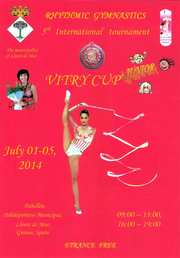 VITRY CUP + Junior, 01-05.07.2014, Льорет де Map, Испания