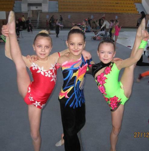 юнные гимнастки фото